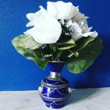 Vase bleu roi