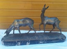 Sculpture animaux en régule : artiste Irenee Rochard