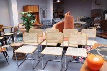 Chaises Cesca B32 M. Breuer vintage
