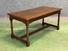 Table basse en chêne - années 50