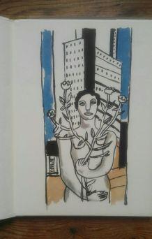 Mes voyages de Fernand Léger. Edito-Service, Genève
