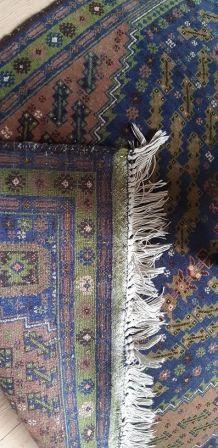 Tapis laine fait main