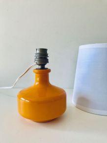 Lampe vintage en céramique