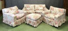 Salon Laura Ashley fabriqué dans les années 70
