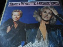 33T  TAMMY WYNETTE&GEORGE JONES  THE WORLD OF  HOLLANDE