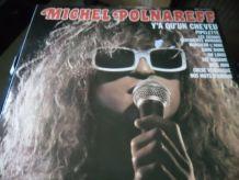 33T/LP  MICHEL POLNAREFF   Y'A QU'UN CHEVEU