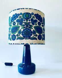 Lampe bleue années 70