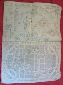revue Dessins Piqués broderie patrons 1925