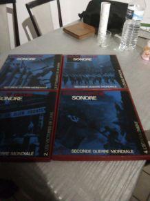 Encyclopédie sonores sur la deuxiéme guerre mondiale signé j