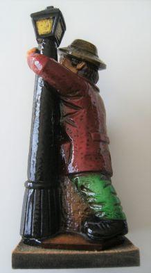 Carafe-bouteille-céramique-vintage-forme-d'un-ivrogne