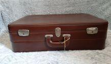Valise vintage marron