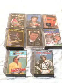 lot  de  8 cassettes  audio