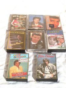 lot  de  8 cassettes  audio