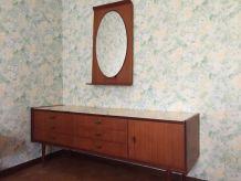 Chambre à coucher vintage 1960
