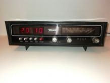 Rare Retro Vintage 70's Radio réveil