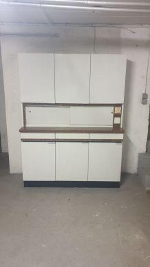 armoire buffet de cuisine rétro année 1970
