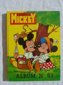 album Mickey N° 63 années 1974