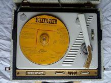 tourne disque Melovox ,electrophone,  vintage années 1960