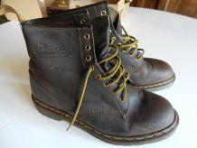 Boots  Doc Martens Marron années 80