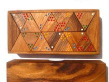 Tridomino , jeu en  bois