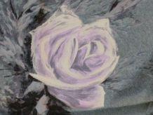 Foulard en soie 50' Roses