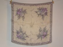Foulard en soie 50' Iris