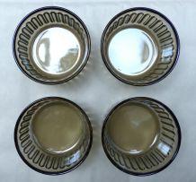 4 ramequins en verre fumé Arcopal