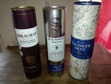 Boites de whisky en métal
