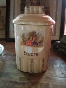 Ancienne boite à sucre