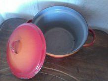 cocotte ,faitout, casserole marmite émaillée en métal