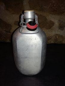Ancienne gourde en aluminium ROC