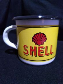 MUGS EMAILLES NEUFS SHELL