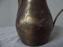 thiere bédouins vintage en bronze