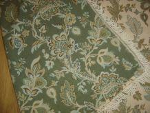 ancien tissu frangé