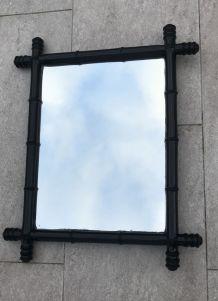 Miroir noir 41X52 cm