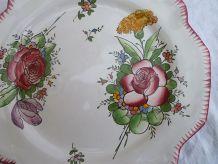 assiette faiencerie d'art Angoulème le  renoleau