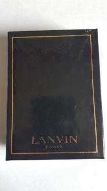 Cartes à jouer Lanvin coffret double
