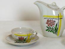 Dinette en porcelaine vintage