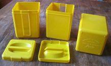 """3 boîtes à chocolat en poudre anciennes """"Menier"""" 60/70"""