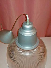 Lustre Suspension industriel Dôme Design Vintage