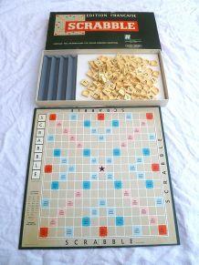 jeux  Scrabble ,  vintage