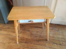 bureau vintage enfant en bois