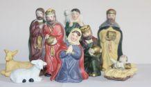 Jolis personnages crèche de Noël