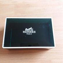 Boite à savon Hermès vide
