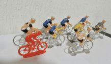 lot anciens cyclistes