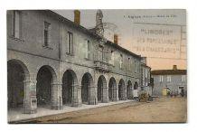 Aignan (32) - Hôtel de Ville (colorisé)