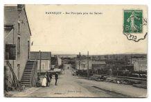 PANNECOT (58) - Rue Principale prise des Sarrots