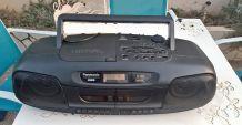 Boom Box Radio Cd double cassette Stéréo Panasonic