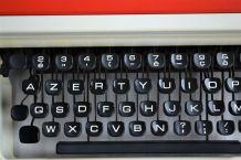 Machine à écrire portative Oxford by Olivetti des années 70