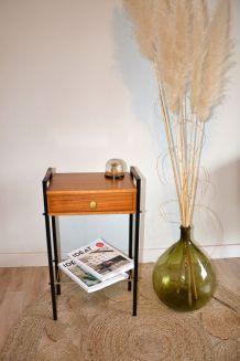 – Chevet occasion vintage Table Luckyfind d'appoint 8n0XwOPk